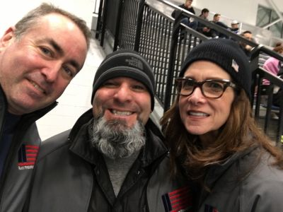 Robert, Chris and Lori from our RPF Board of Directors collected donations at the Northwell Health Ice Center. Thanks to everyone their support!