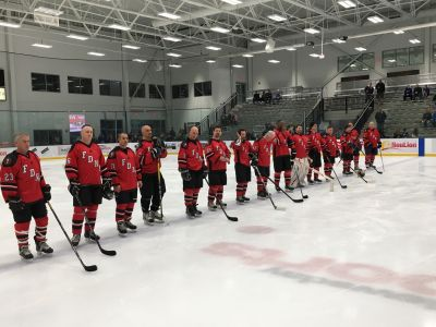 Thank you to the FDNY Alumni Hockey team for hosting a fundraiser for our Ray Pfeifer Foundation!