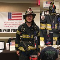 Meet Brett Sost. He's a volunteer firefighter with the New Egypt Fire Company in New Jersey. He climbed for FF Dana Hannon (Engine 26) and FF Andrew Brunn (Ladder 5).