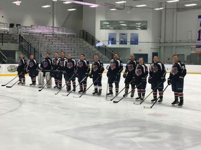 Thank you to the Ontario Fire Hockey team for traveling all the way from California to New York. We appreciate their generous donation and support of our RPF mission. First responders helping first responders.