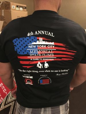 More than 400 first responders from around the world participated in the 4th Annual New York City Memorial Stair Climb. Our foundation was honored to be the 2018 fundraising beneficiary. Thank you all!