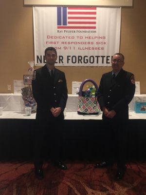 Craig Paupst and Robert Ostrofsky represented our RPF in Lake George. Tough job, but someone had to do it!