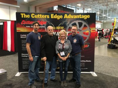 At the Firehouse Expo in Nashville, Craig & Robert learned about the latest fire rescue saws from Thomas & Sue at Cutters Edge.