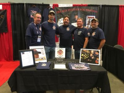 Robert Ostrofsky, Craig Paupst, Robert Menig, John Schroeder and Brian McGuire represented The Ray Pfeifer Foundation at our booth in Nashville.