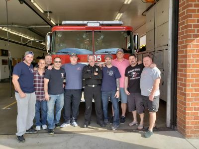 Thanks to the LAFD for hosting our RPF board member Rob Serra after wheels down on the west coast.