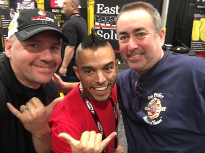 Great connecting with Lt. Ryan Pennington from West Virginia and Pip from 5-5-5 Firefighter Fitness.