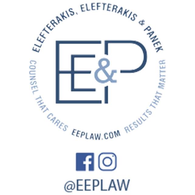 RPF Golf Outing Sponsor - Elefterakis, Elefterakis & Panek