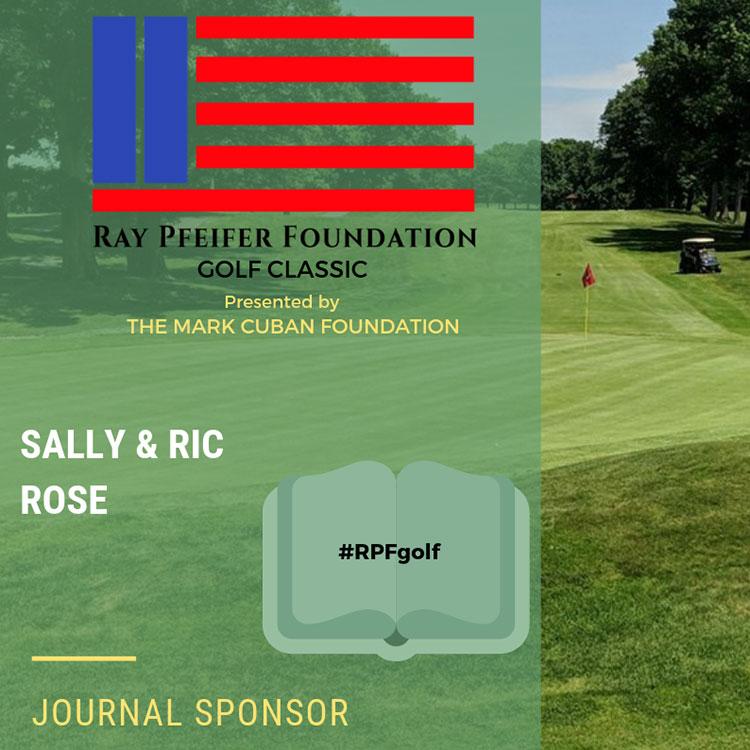 RPF Golf Outing Sponsor - Sally & Ric Rose