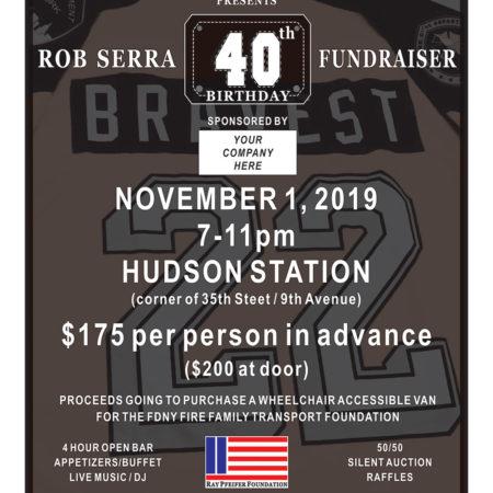 Rob Serra's 40th Birthday